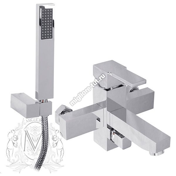 Смеситель для ванны с душем Migliore Kvant ML.KVT-2702 цвет хром