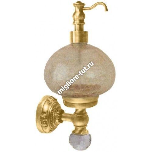 Дозатор жидкого мыла настенный Migliore Cristalia ML.CRS-60.237 DO стекло, SWAROVSKI