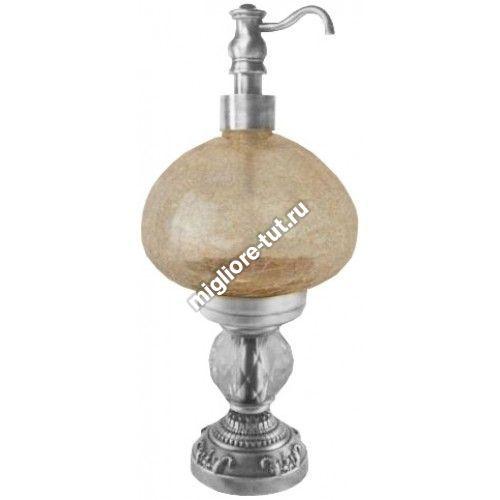 Дозатор жидкого мыла настольный Migliore Cristalia ML.CRS-60.247 CR стекло, SWAROVSKI