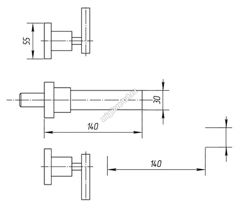Смеситель для раковины Migliore Syntesi ML.SNS-7965 цвет хром