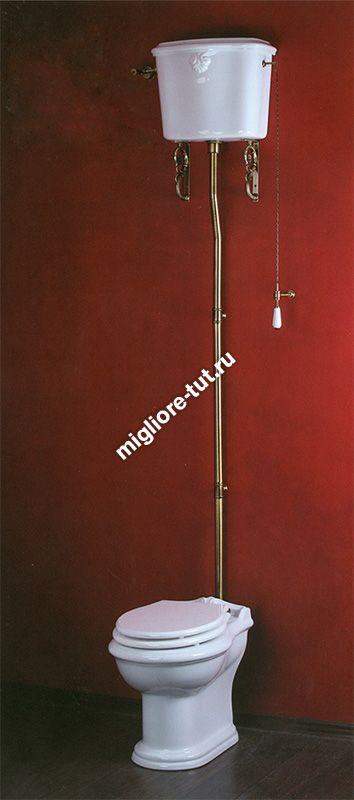 Труба высокая к подвесному бачку Migliore Ricambi ML.MEC-29.041 CR