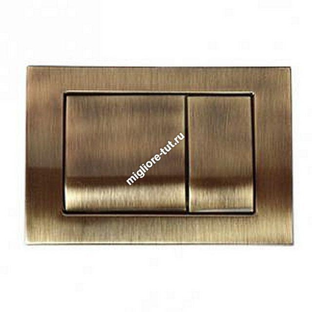 Клавиша смыва двойная для встроенного бачка, инсталяции Migliore ML.PLC.27.051 CR