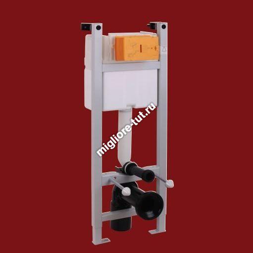 Система инсталляции для подвесного унитаза без кнопки (крепление стена-пол) Migliore Expert Evo ML.EXE-27.664