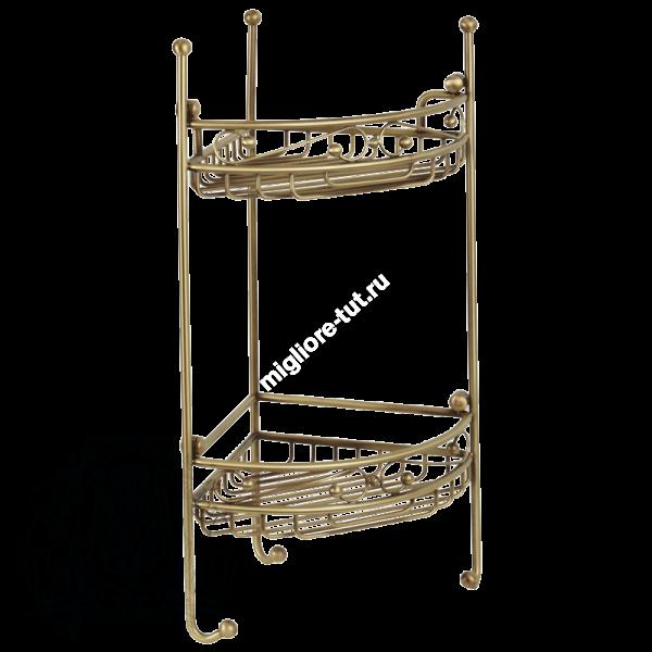 Решетка угловая ажурная двойная Migliore ML.COM-50.212 DO