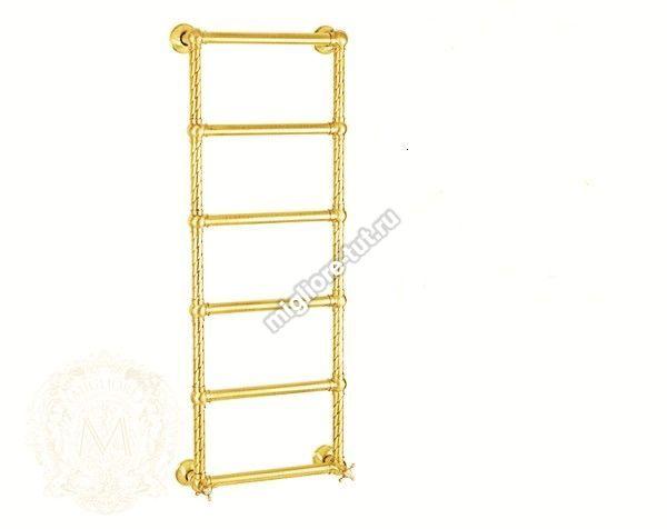 Полотенцесушитель водяной высокий Migliore Edera ML.EDR-HY.210 цвет золото