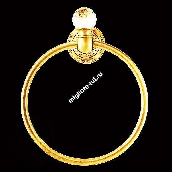 Кольцо Migliore Cristalia ML.CRS-60.208 цвет золото SWAROVSKI