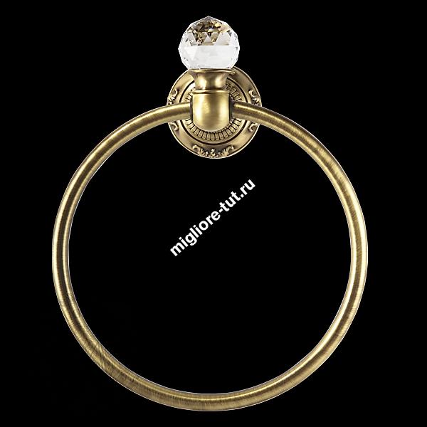 Кольцо Migliore Cristalia ML.CRS-60.208 цвет бронза , SWAROVSKI