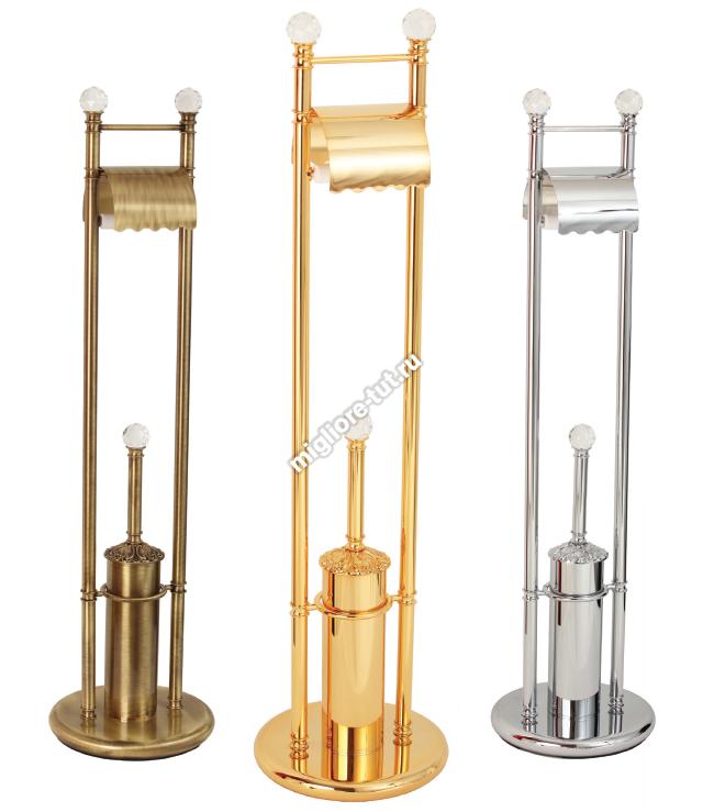 Стойка 2-х функциональная Migliore Cristalia ML.CRS-60.242 цвет золото , SWAROVSKI