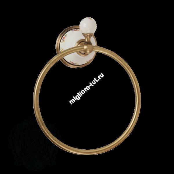 Кольцо Migliore Provance ML.PRO-60.508 цвет золото , керамика с декором