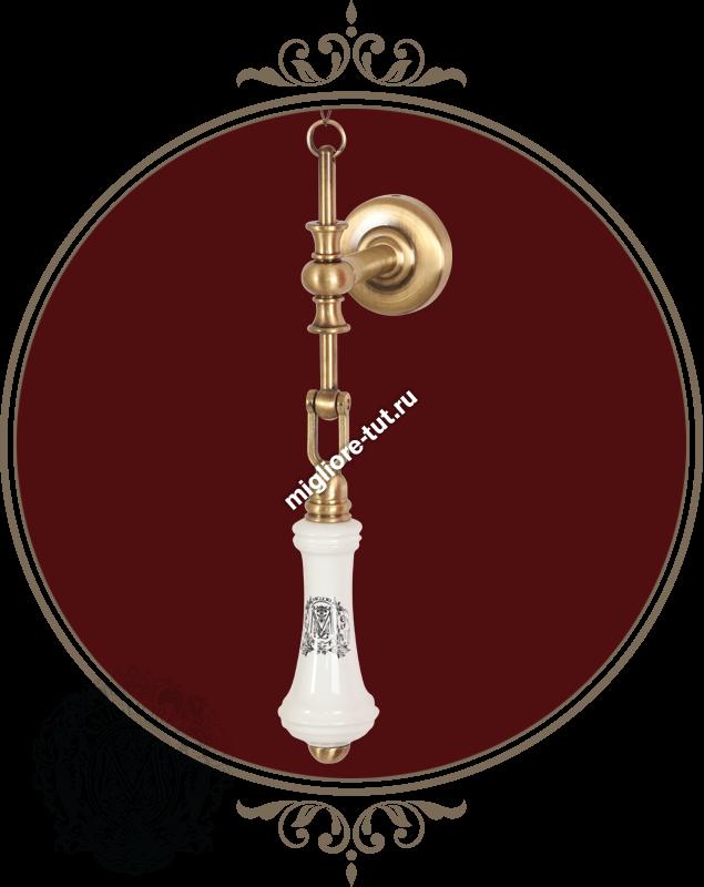 Унитаз напольный с высоким бачком Migliore Gianeta ML.GNT-25.811.BL.BR
