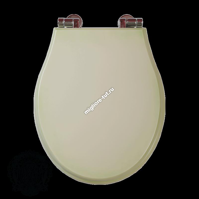 Унитаз напольный с низким бачком с ручкой слива Migliore Impero ML.IMP-25.311.BL.BRR