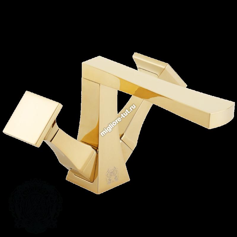 Смеситель для раковины Migliore Opera ML.OPR-6034 цвет золото