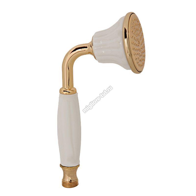 Ручной душ Migliore Olivia ML.OLV-5806 цвет белый/золото